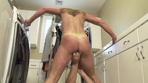 amateur blonde sucks cock