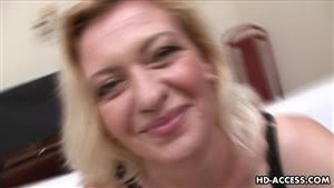 mature blonde escort british