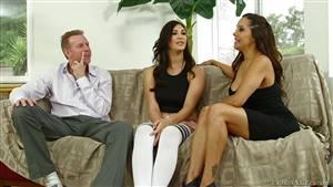 rough anal sex threesome
