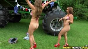 big booty brazilian gangbang