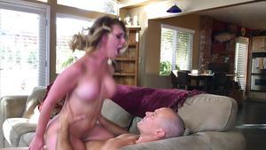 blonde babe double penetration