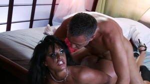 busty babe rides dildo squirts