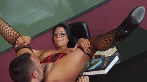 hot busty girl masturbating