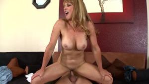 girl plays her huge boobs